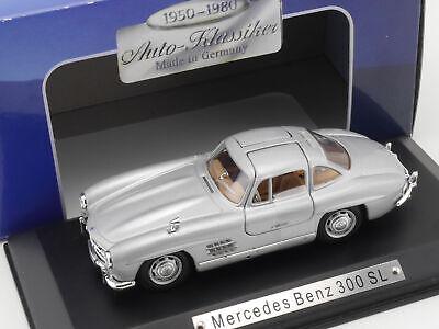 Zielsetzung Atlas Mercedes Mb 300 Sl Coupe Flügeltürer W 198 1:43 Top! Ovp 1607-23-77