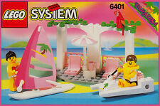 Lego Paradisa 6401 Seaside Cabana New SEALED Town - Ships World Wide