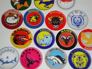 """12 RANGERS  CROWN GREEN STICKERS  1/""""   LAWN BOWLS FLATGREEN  AND INDOOR BOWLS"""
