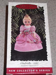1995-Hallmark-Ornament-Cinderalla-Madame-Alexander-10th-in-Collectors-series