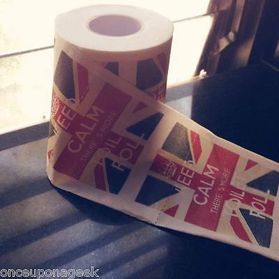 Keep Calm Toilet Roll Paper - Keep Calm There's More Toilet Roll