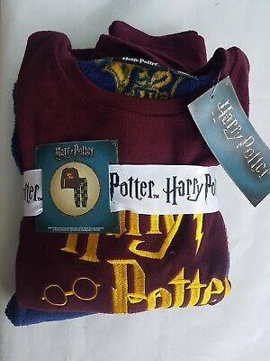 kids childrens boys Harry Potter cosy fleece pyjamas 8-9 or 9-10 years Primark