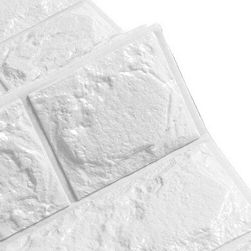 3D-Steinwandoptik-Fliesenaufkleber Backstein Fliesen Selbstklebende 60x30cm NEU