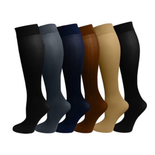 New Pressure Stockings Colorful Preventing Varicose Veins Skinny Shank Thin Leg