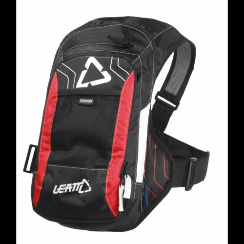 LEATT HYDRATION SYSTEM /& BACKPACK A4 BLACK//RED//WHITE 3L HARNESS