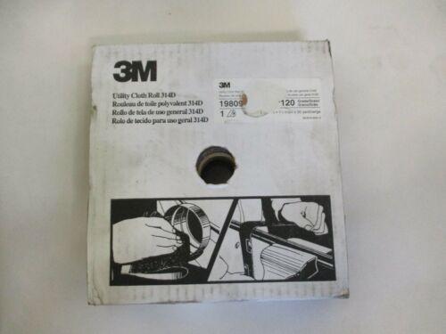 """NEW 3M 19809 1-1//2/"""" X 50 YD UTILITY CLOTH ROLL 314D 120 GRID"""