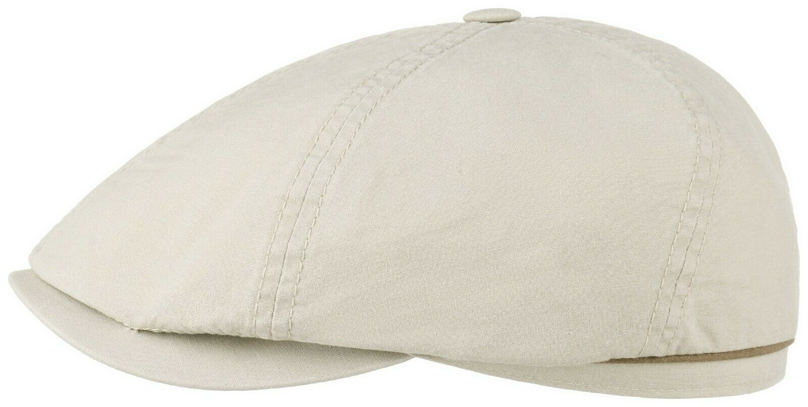 STETSON STETSON STETSON SUN GUARD ® BAKERBOY KAPPE MÜTZE ORGANIC COTTON BROOKLIN 71 BEIGE NEU | Wonderful