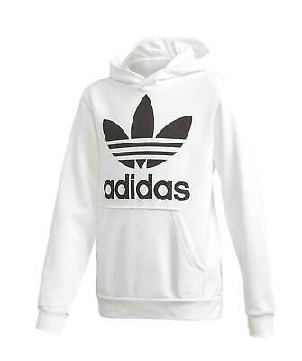 Dettagli su Felpa Adidas Junior Bimbo Cerniera Cappuccio Logo Braccio Royal CF0014