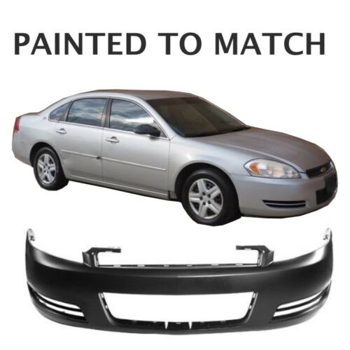 Fits 2006 2007 2008 2009 Chevy Impala Front Bumper w//out Fogs Painted to Match