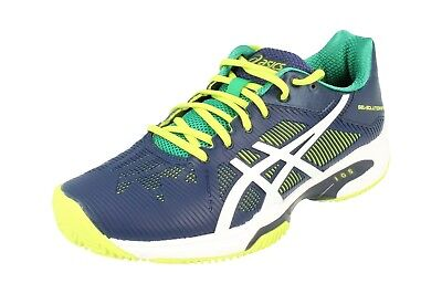 Asics Gel Solution Speed 2 Clay Mens Tennis Shoes E601N Sneakers Trainers