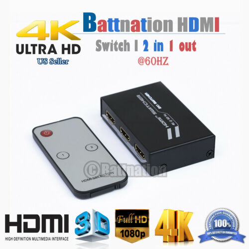 HDMI Switch Multi-function 2.0 4kx2k@60hz 2x1 3x1 4x1 5x1 2in//3in//4in//5in-1out
