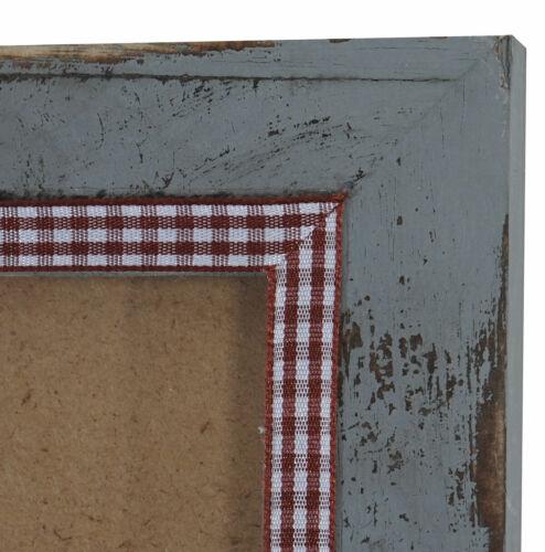 Fotorahmen Holzrahmen 36x51cm Shabby-Look Landhaus Bilderrahmen T248