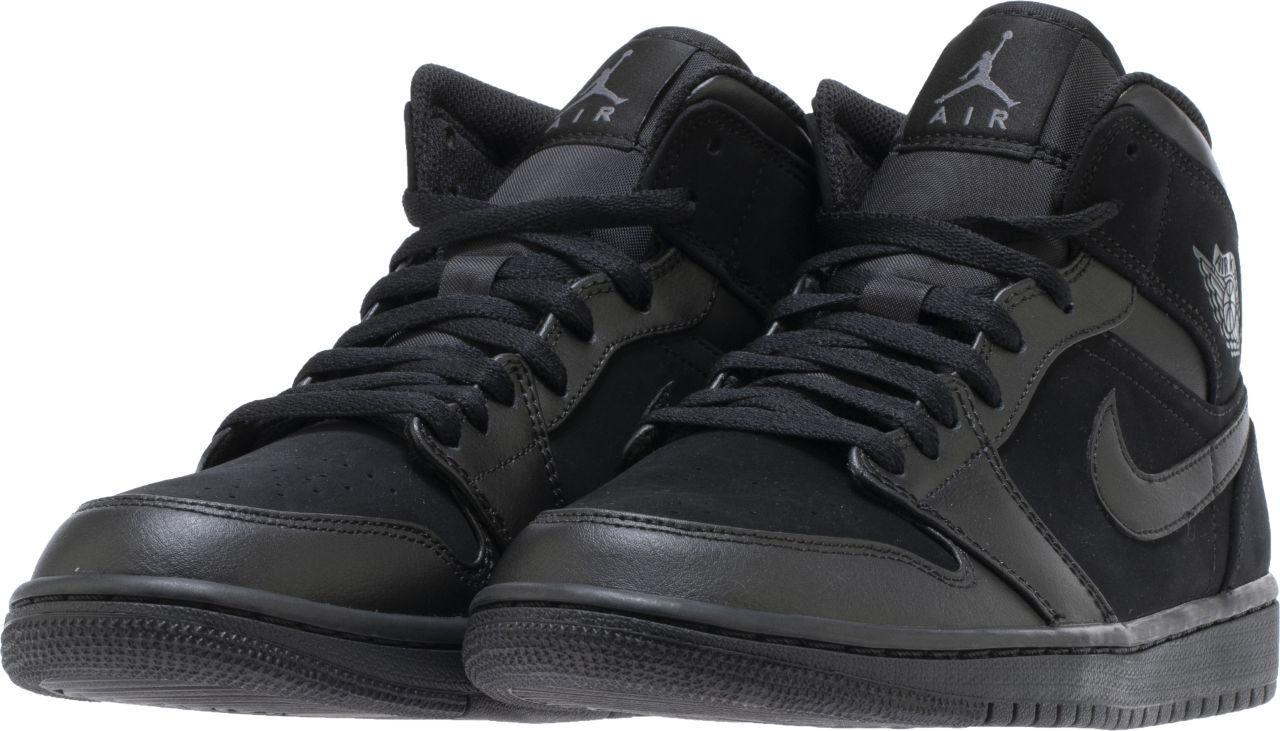 554724-050 Jordan Retro Retro Retro 1 Mid Lifestyle scarpe nero nero Dimensiones 8-14 NIB a288ce