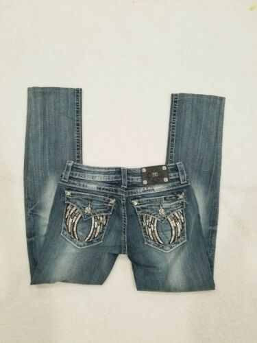 Wings Women's Signature Lommer Jeans Angel Flap 29 28 Boot Distressed Me Miss X 0Bq6n