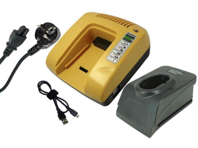 powersmart 14.4V/18V chargeur pour Hitachi DS 14DFLG, DS 14DVB, BCL1415, jaune