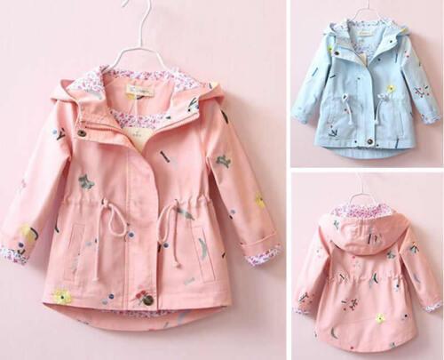 Baby Girls Outwear Coat Winter Jacket Parka Overcoat Raincoat Snowsuit Clothes