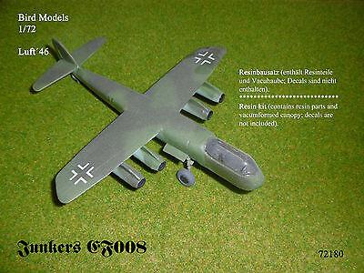 Junkers EF 008 Strahlbomberprojekt    1/72 Bird Models Resinbausatz  / resin kit