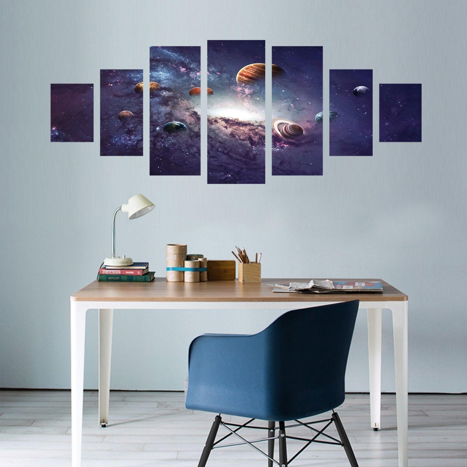 3D Galaxy Planet 556 impresión sin enmarcar Papel de Parojo Calcomanía Parojo Deco Parojo Interior AJ