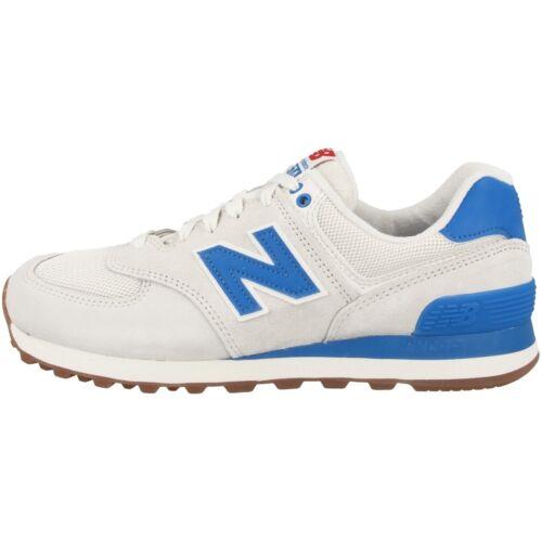 New Balance WL 574 RSB Women Schuhe sea salt blue Sneaker beige blau WL574RSB