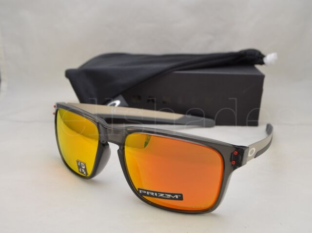 7a1b08c3b1530 Oo9384-07 57 Oakley Sunglasses Holbrook Mix Grey Smoke Prizm Ruby Polarized