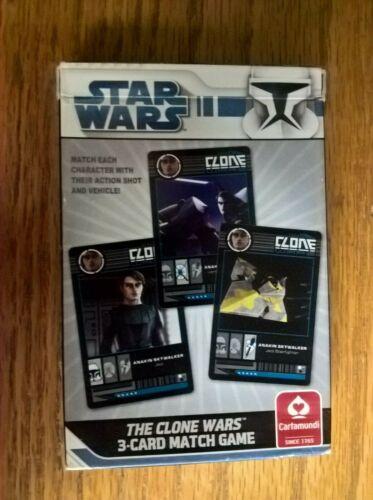 Star Wars The Clone Wars playing card game set deck by Cartamundi