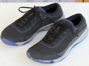 9-Merrell-Unifly-Women-Black-Purple-Vegan-Fabric-Trail-Running-Sneaker-Shoe