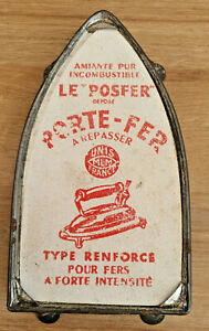 Ancien-Porte-Fer-a-Repasser-Le-Posfer-Depose-Unis-MLM-France