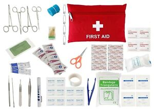 Advanced Surgical Suture Kit, First Aid Medical Travel Trauma Pack, 50 Pieces
