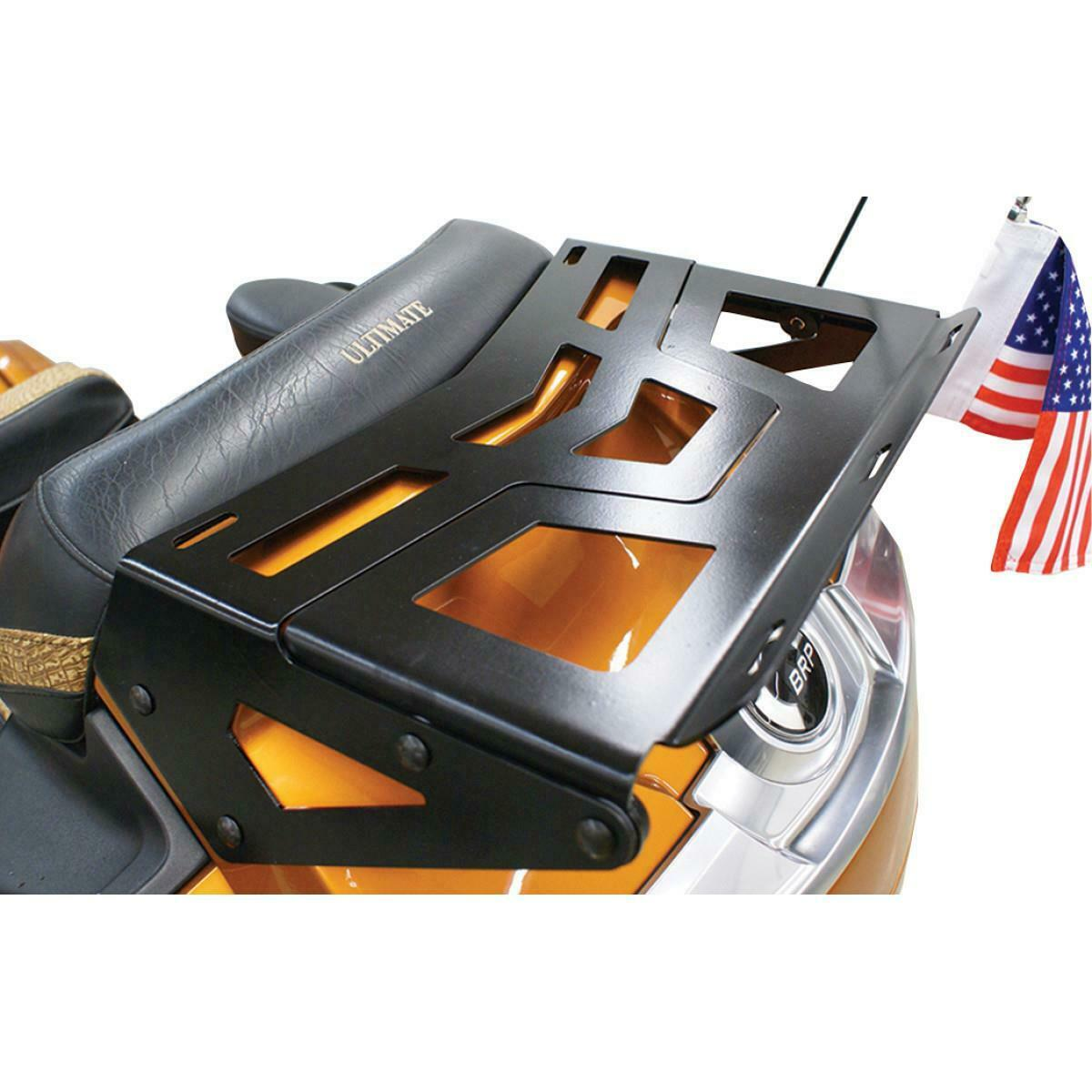 Solo Luggage Rack 7 Gloss Black for Fat Boys 07-UP and Deluxe 05-UP models