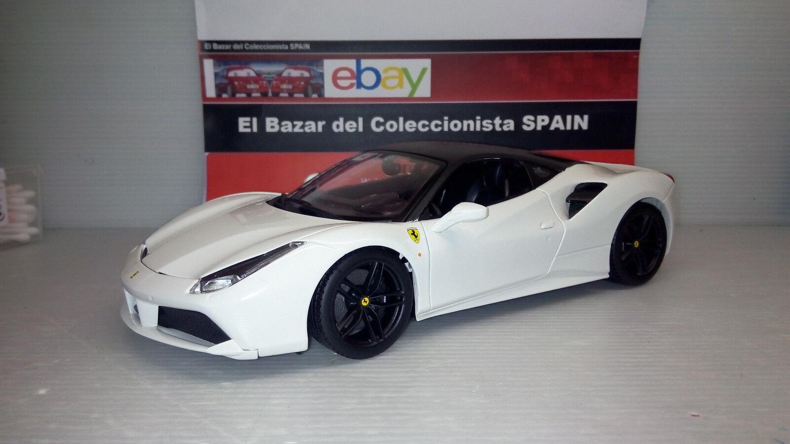 MODIFIED  Ferrari 488 GTB -  Bburago  - 3L 050