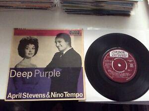 April Stevens & Nino Tempo. Deep Purple. EP