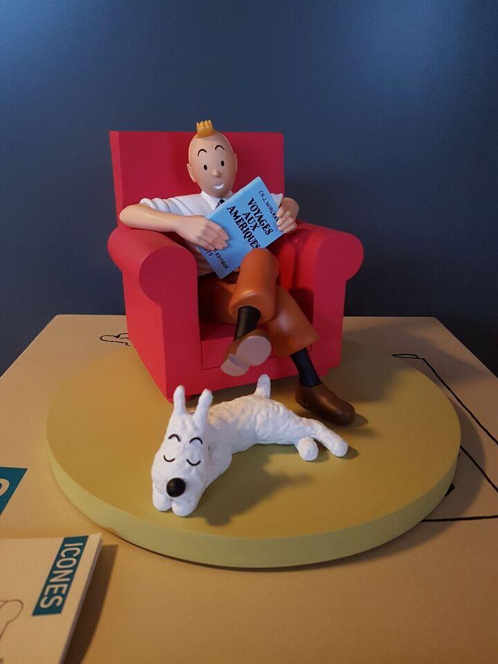 Samlefigurer, Tintin at home