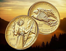 2015 W US Mint $100 American Liberty HR .9999 Gold Coin Ltd Mintage Now on Hand
