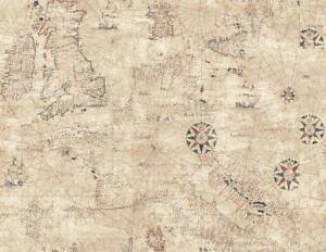 Wallpaper-Designer-Trade-Routes-Map-British-Colonial-Maps-and-Ships