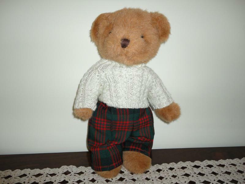 Teddies in Tartan Scottish Airdie Scotland Bear