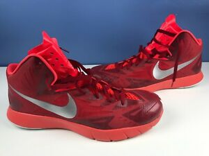 Details about Nike Lunar Hyperquickness TB Men's Red Basketball Shoes Size  15 #652775-606
