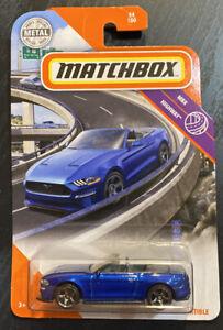 Matchbox 2020 #54 2018 Ford Mustang Convertible