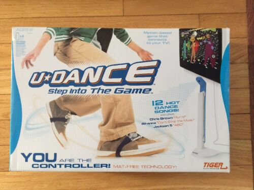 U-Dance Step into the Game Brand New Sealed In Box