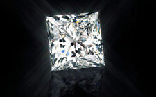 1.24ct Princess-Cut Swarovski Loose Diamond VVS1 6.00mm Single Loose Diamond