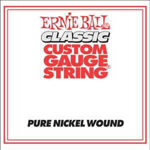 ernie ball classic pure nickel wound custom gauge electric guitar strings 6 pack ebay. Black Bedroom Furniture Sets. Home Design Ideas