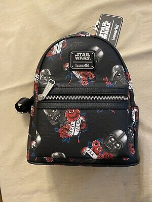 Mini Backpack Star Wars Darth Vader Light Saber Disney