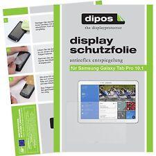 2x dipos Samsung Galaxy Tab Pro 10.1 matte Displayschutzfolie Antireflex