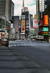 City Buildings Street View Photography Backgrounds 5x7ft Vinyl Photo Backdrops