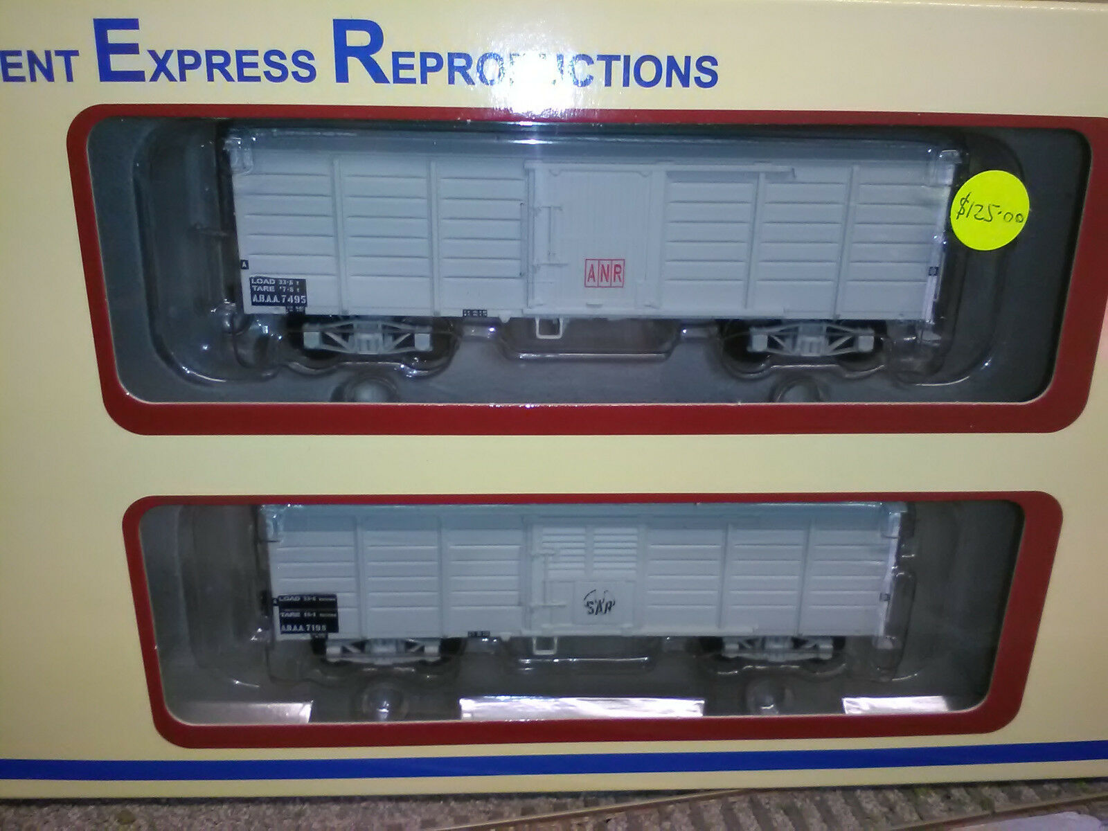 Orient Express Reproductions OR322 ANR ABAA/ABAA Van Light grigio Flat roof BNIB