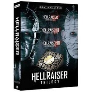 Dvd-HELLRAISER-Trilogy-Box-3-Dvd-NUOVO