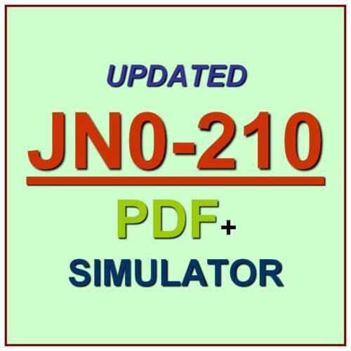 Test JN0-210 Exam QA PDF+SIM JNCIA-Cloud Juniper Certified Associate Cloud