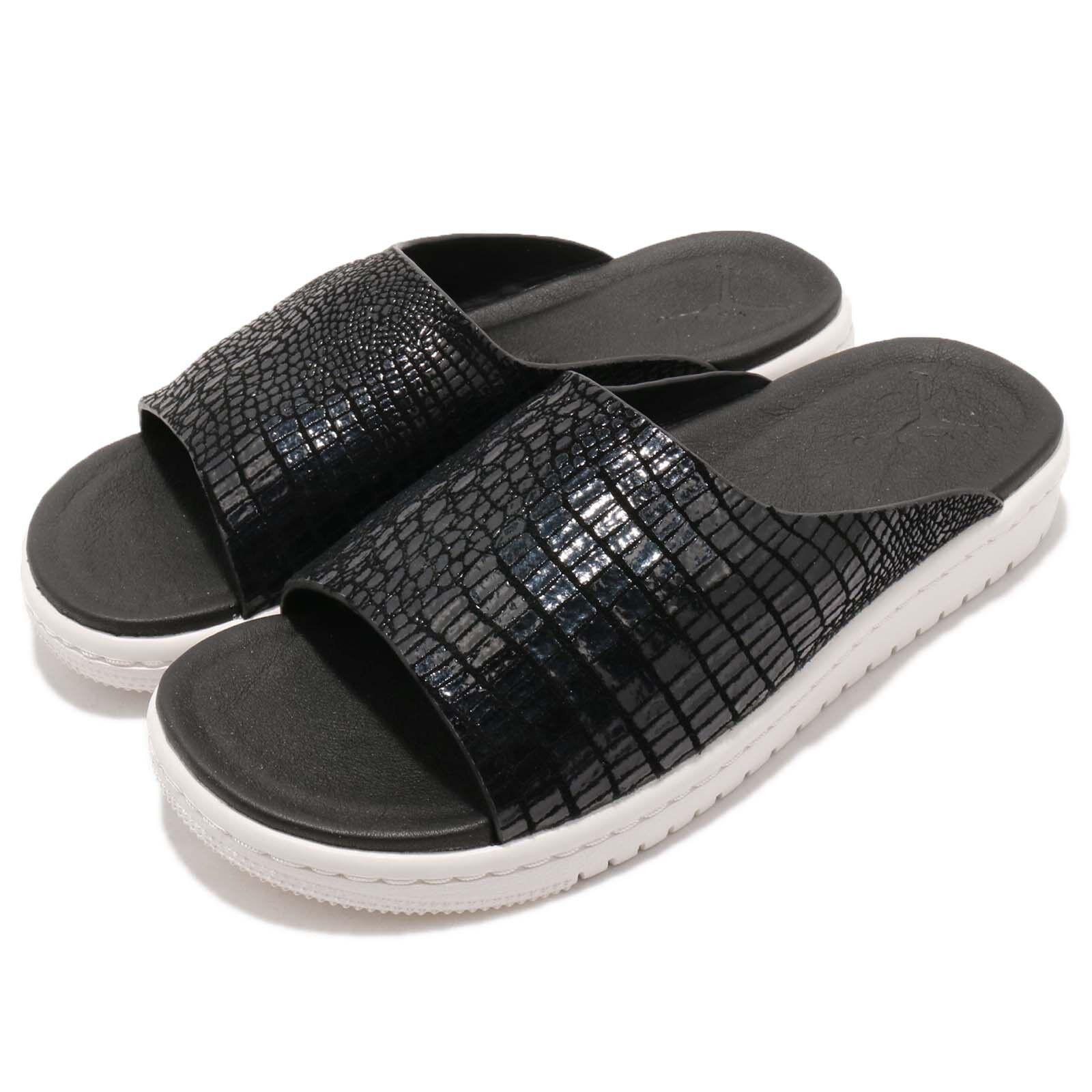 Nike Wmns Wmns Wmns Jordan Modero 1 I Negro Mujeres Sandalias diapositivas Zapatilla Deportiva AO9919-004  marcas de diseñadores baratos