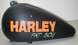 HARLEY-DAVIDSON-1992-Fat-Boy-Motorcycle-Split-Fuel-Gas-Tank