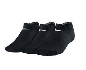 Nike-Sport-Socken-Schwarz-Socken-2-Paar-Groesse-12-2-SX4721-001-Sport