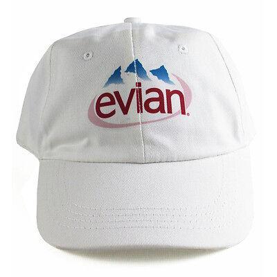 Vintage Evian 6 Panel cap hat vaporwave 5 yung lean NEW